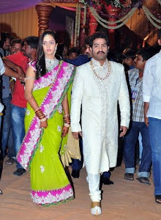 jr ntr lakshmi pranathi photos, jr ntr lakshmi pranathi marriage stills, lakshmi pranathi jr ntr photos3