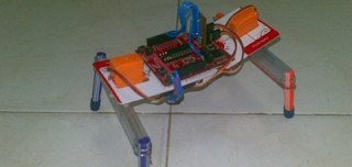 robô servo motor MSP430