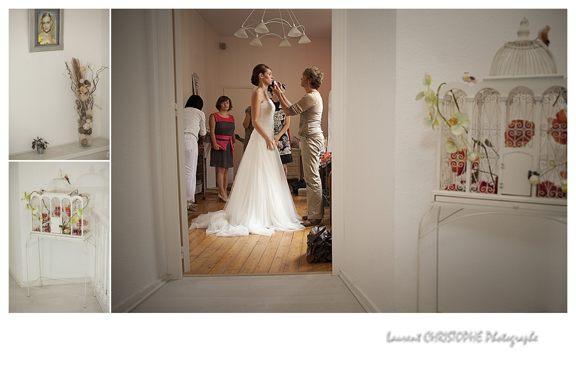 Laurent christophe photographe mariage de sophie et quentin laval - Salon du mariage la roche sur yon ...