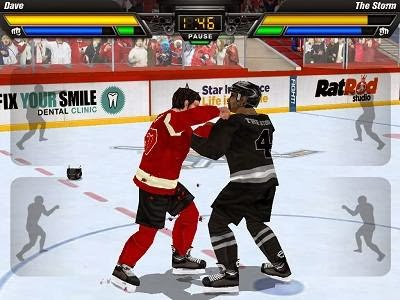 Hockey Fight Lite - Multiplayer Game online with Android and iOS