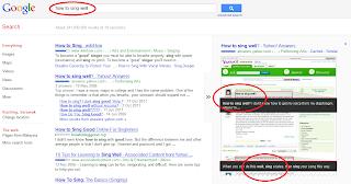 keyword in Google