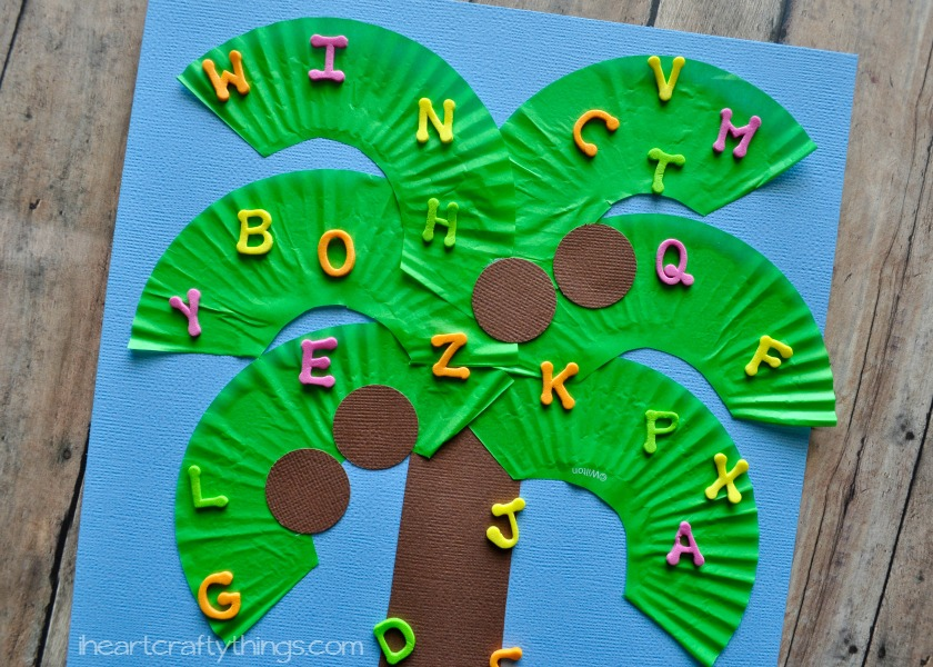 Chicka Chicka Boom Boom Kids Craft | I Heart Crafty Things