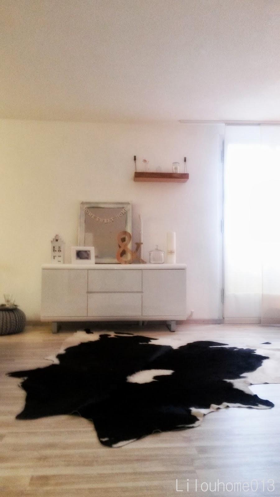 Un tapis pour séparer deux pièces