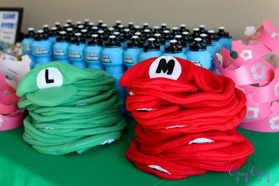 super Mario brothers party favors