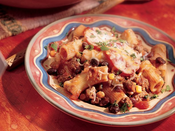 My Favorite Things: Cheesy Mexican Pasta Bake
