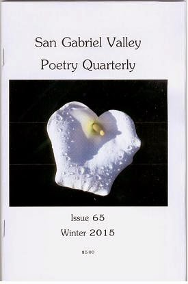 San Gabriel Valley Poetry Quarterly Winter 2015