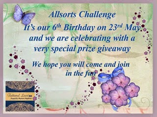 Allsorts Challenge Blog 6th Birthday