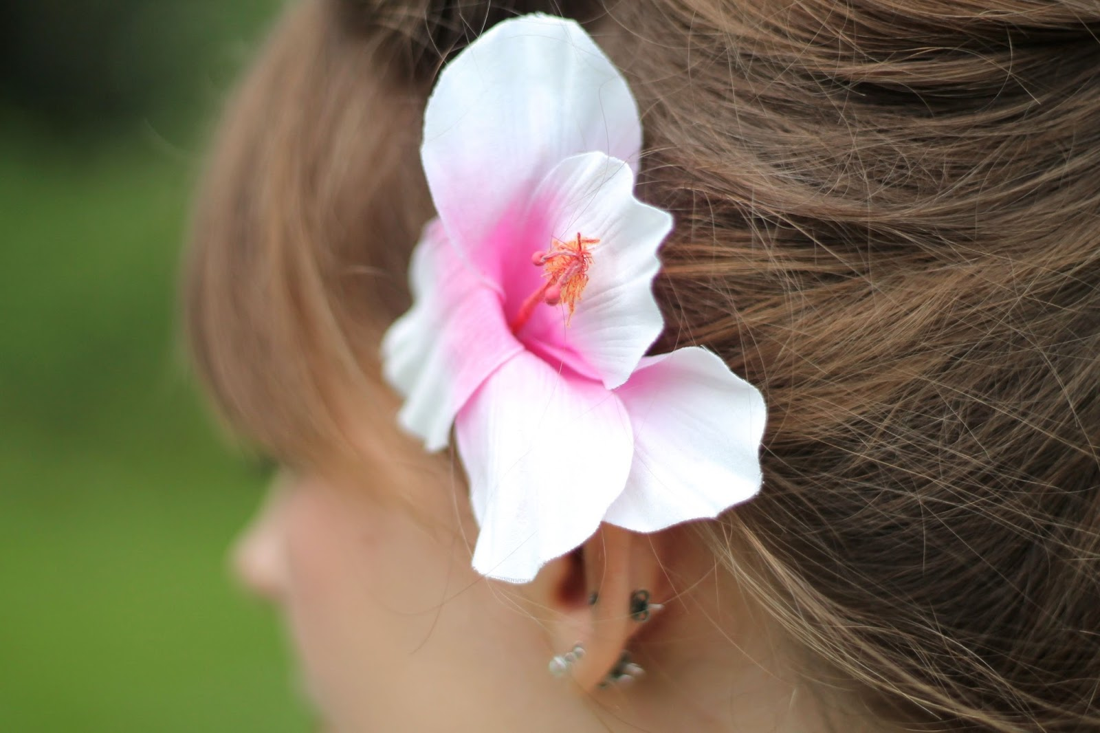 Asos pin-up hair flower