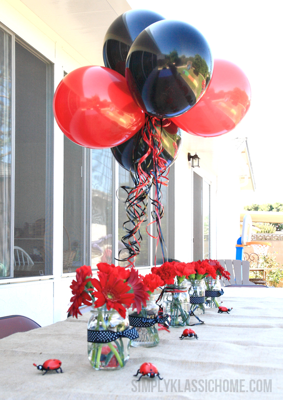 1000  ideas about Ladybug Party Centerpieces on Pinterest ...