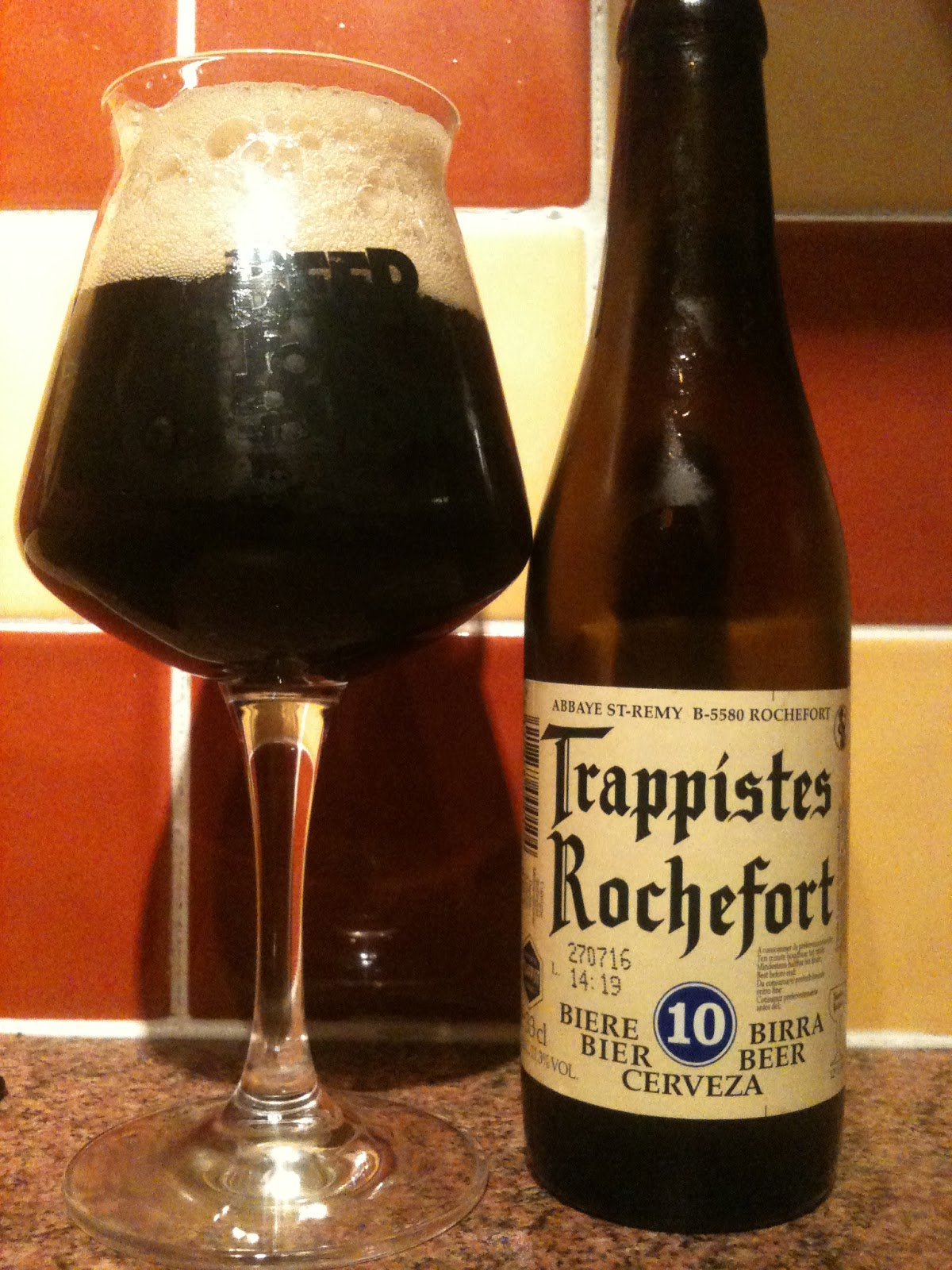 Misplaced Hours: Trappistes Rochefort 10