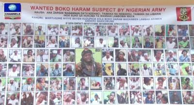 100 Boko Haram suspects