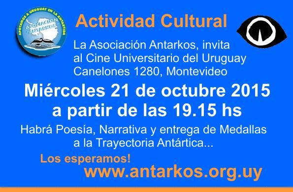 Actividad Cultural de la Asociación Civil Antarkos