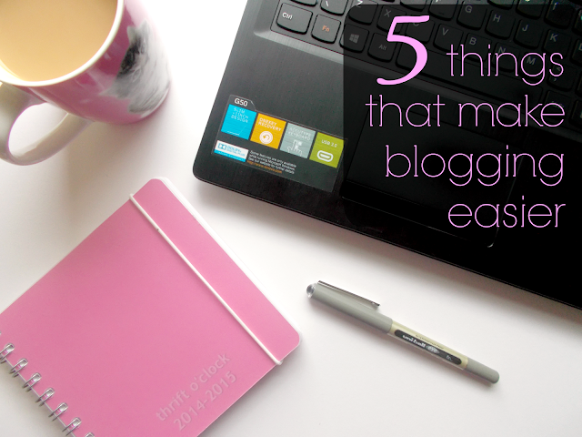 things that make blogging easier tips advice personal planner tweetdeck picmonkey bloggers tea #irishblogcollab