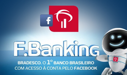 Aplicativo do Bradesco no Facebook