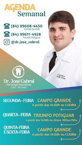 Dr. José Cabral atende segunda, quinta e sexta-feira na CLIORM em Campo Grande