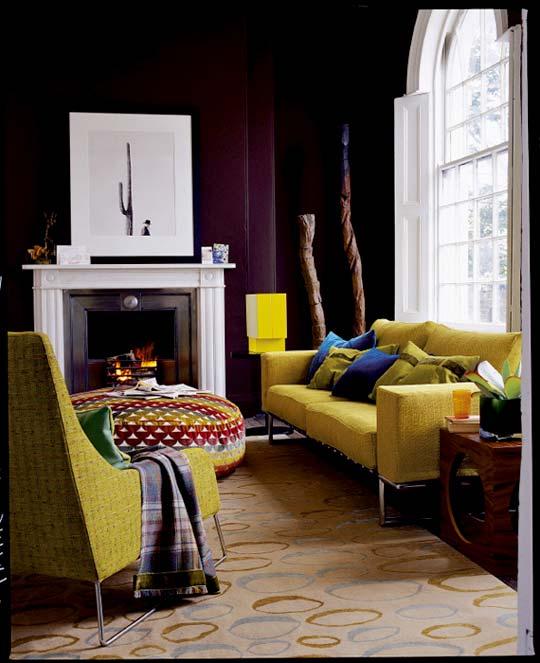 imbiancare casa idee: colori pareti: il marrone scuro e i suoi ... - Soggiorno Verde E Marrone 2