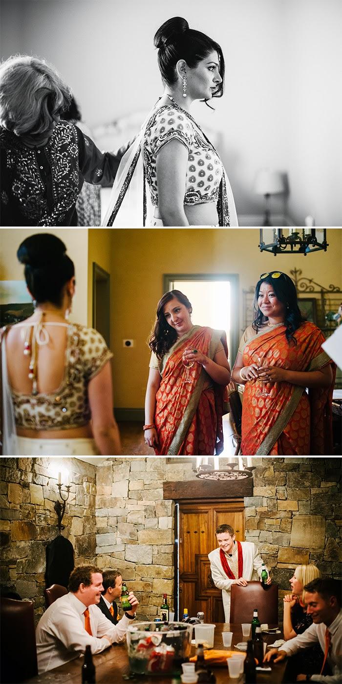 San Martin wedding bride getting ready Clos LaChance Winery