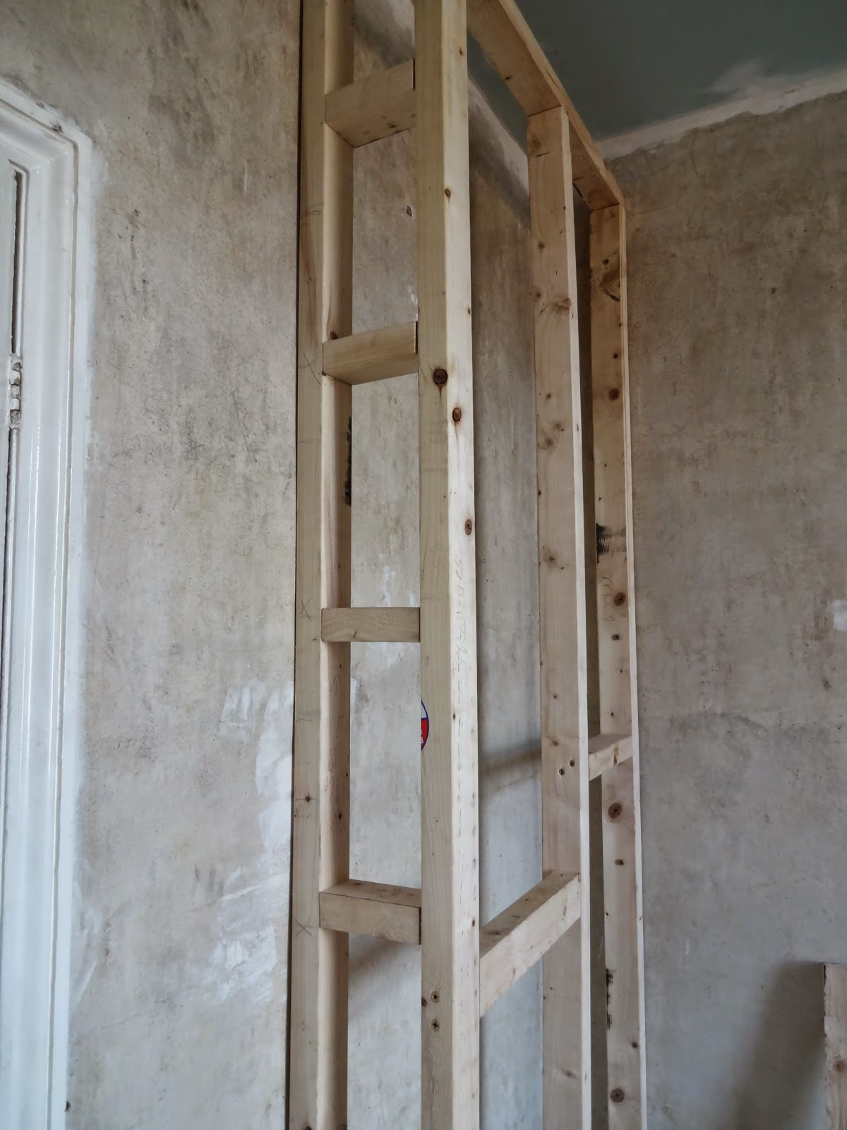 How To Build A Shower Wall Frame