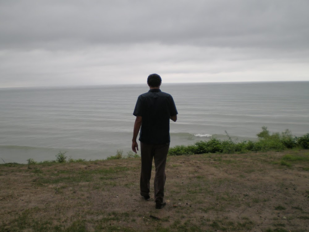circumnavigating the Great Lakes by land and writing