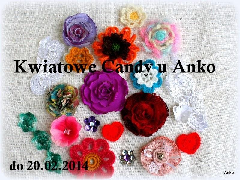 Kwiatowe Candy u Anko