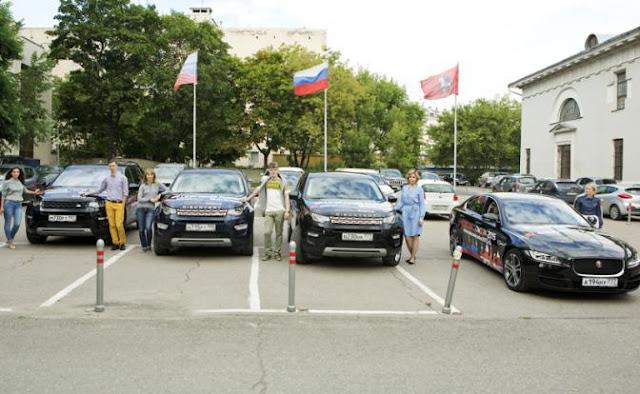 Автопробег Москва-Лондон-Москва на автомобилях Jaguar и Land Rover