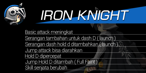 Hero Reform Iron Knight