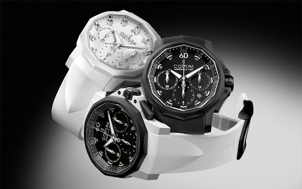 Corum Admiral's Cup Challenger 44 Chrono Rubber 2011