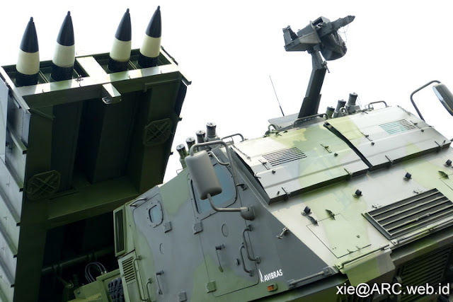 MLRS Astors II TNI-AD