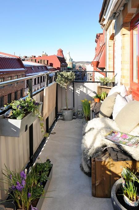 MI RINCÓN DE SUEÑOS: Ideas para decorar el balcón