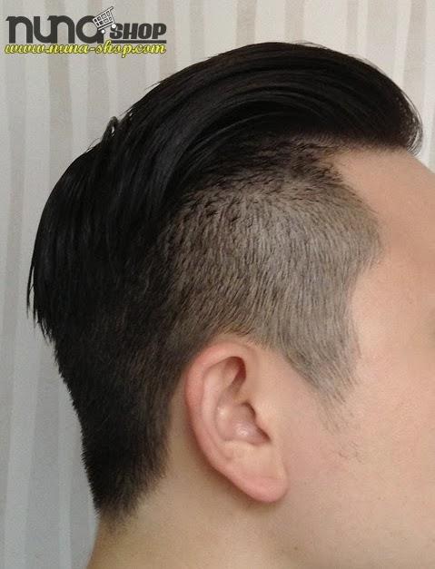 Hasil Memakai Minyak Rambut COCK GREASE HAIR POMADE - XX