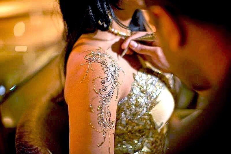 Celebrity Bridal Mehndi Designs