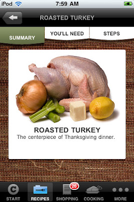 Chow Thanksgiving Dinner Coach - thanksgiving app