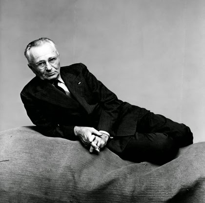 Edward Steichen by Irving Penn. Published in Vogue, February 1, 1948