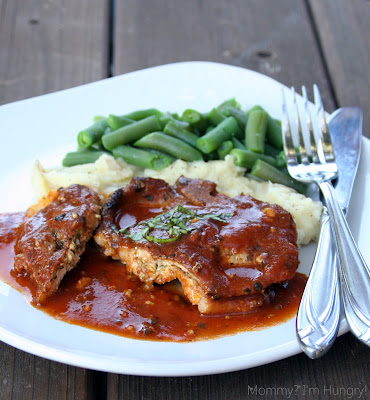 MIH Recipe Blog: Pesto and Cheese Stuffed Pork Chops
