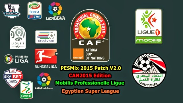 PESMix 2015 Patch V2.0 CAN2015 Edition