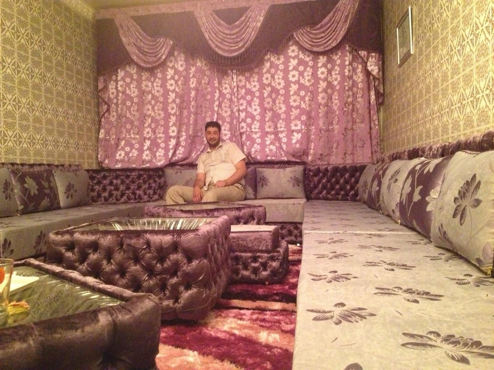 salon marocain chez amine septembre 2013. Black Bedroom Furniture Sets. Home Design Ideas