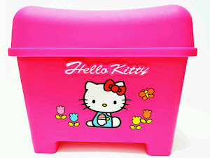 Container box hello kitty