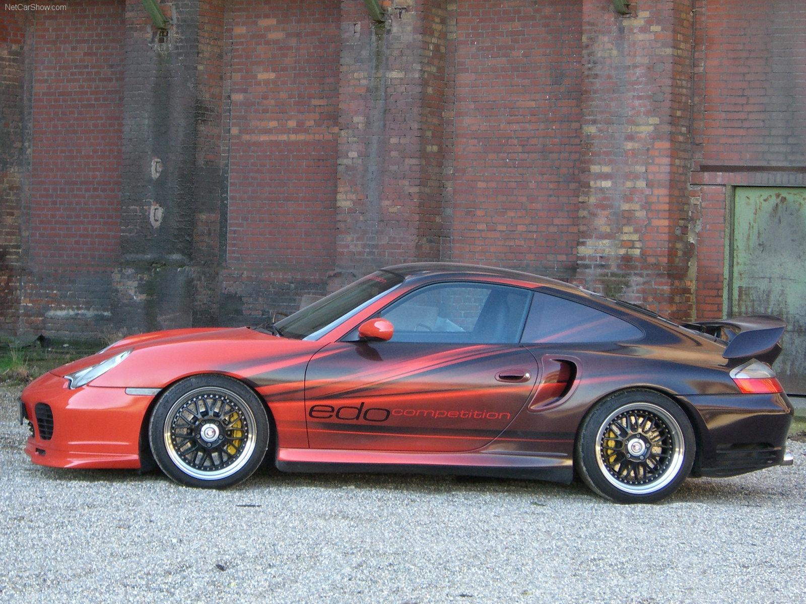 Hình ảnh siêu xe Edo Porsche 996 Turbo Red-Black 2006 & nội ngoại thất