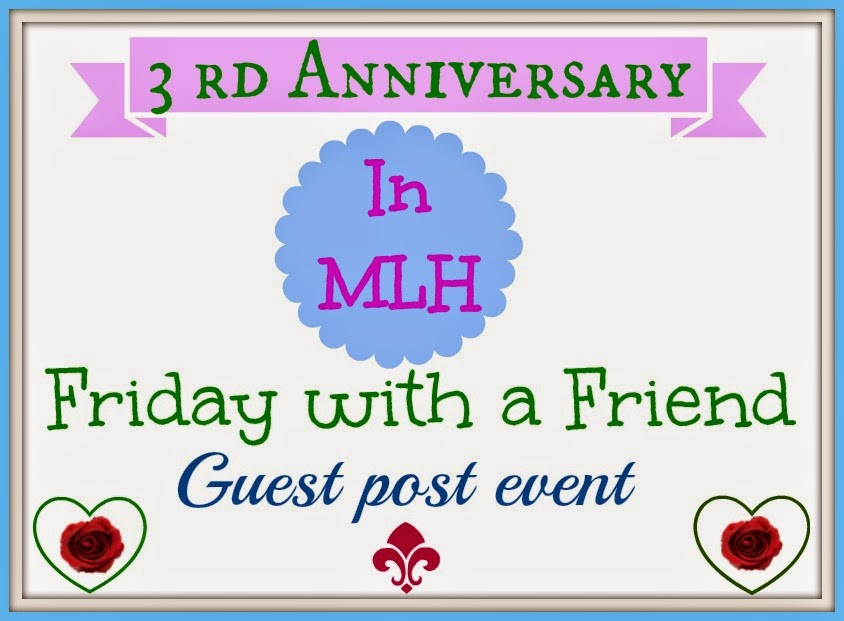 Friday With A Friend 13th Guest Post By Shailaja Reddy