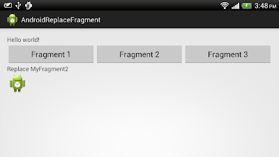 Replace Fragment dynamically