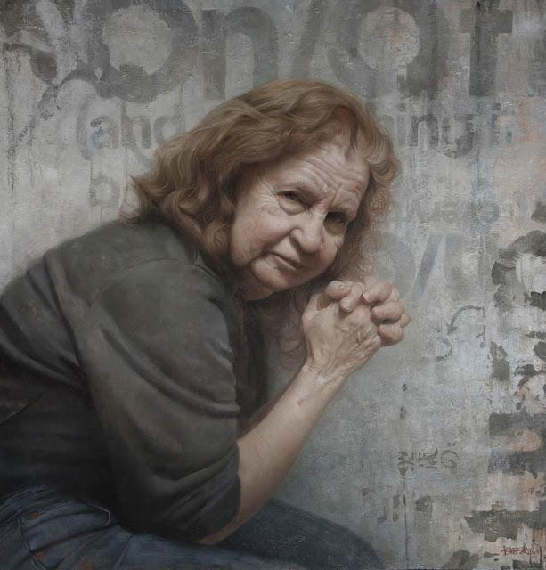 """Roberta Joy Kassan"" in. x in. / canvas /  June 2014"