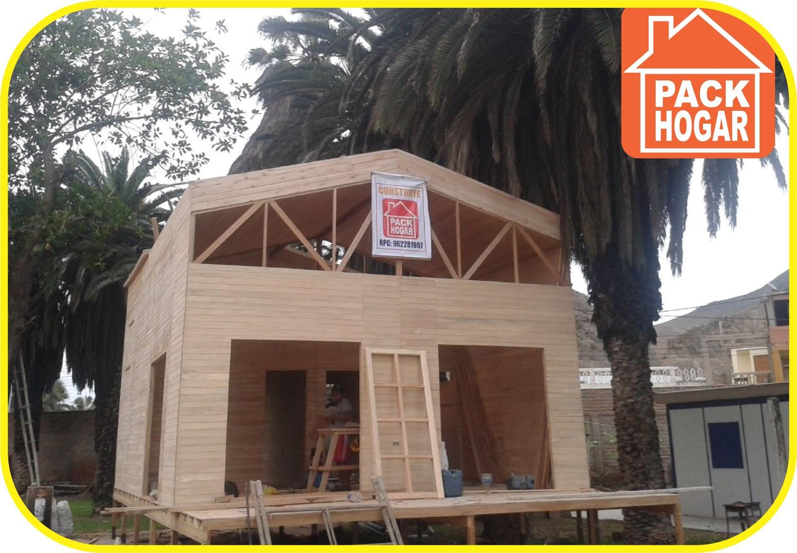 Las casas de madera prefabricadas ahorran un 90 en gastos de energ a el ctrica - Feria de casas prefabricadas ...