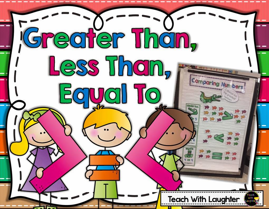 worksheet Greater Than Less Than teach with laughter greater than less equal to freebie it can be used on its own or would a great addition my learning pack if interested you le
