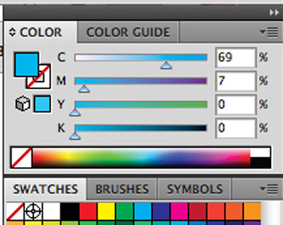 screenshot of an illustrator screen