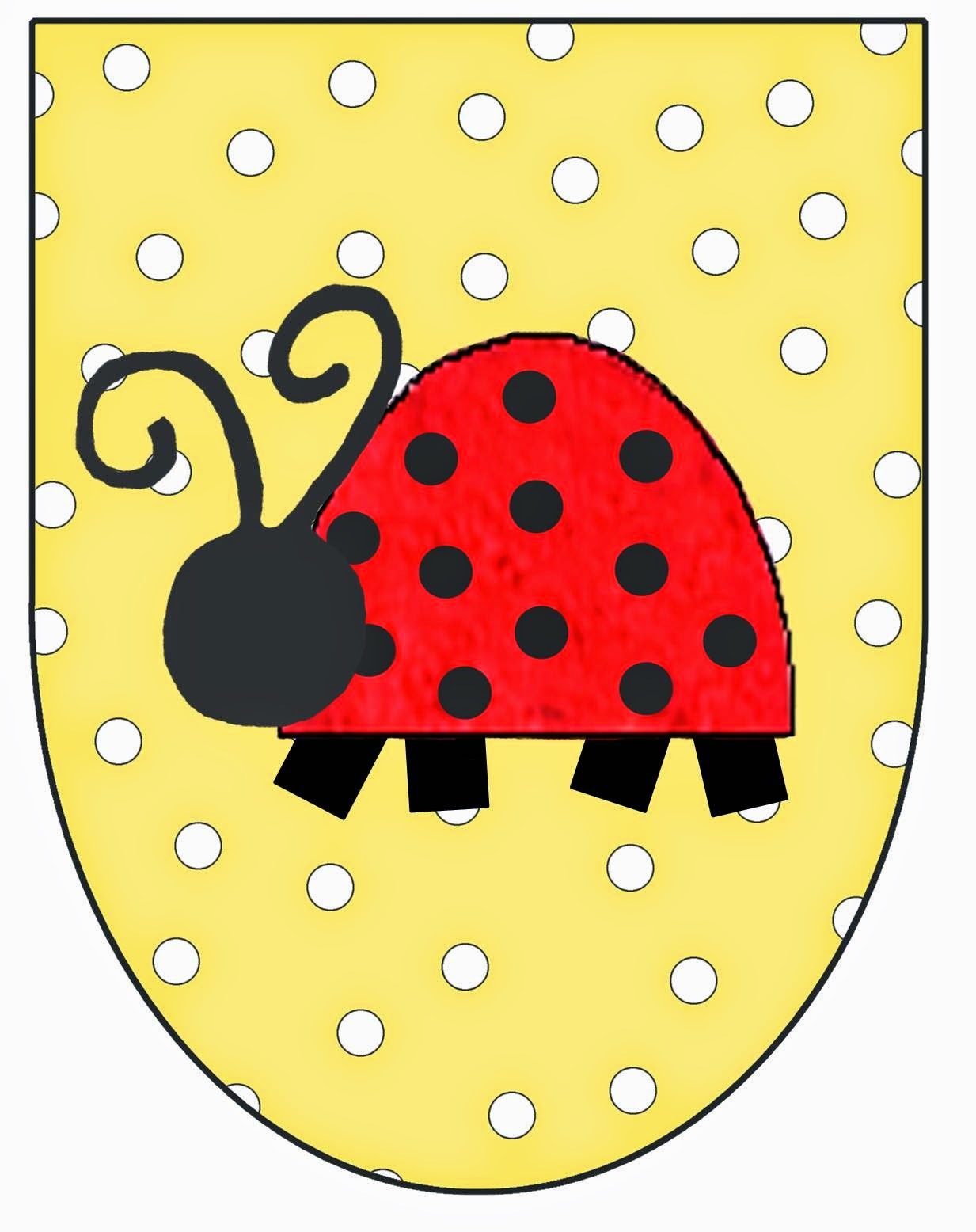 Excepcional Mariquita Para Colorear Imprimible Ideas - Dibujos Para ...