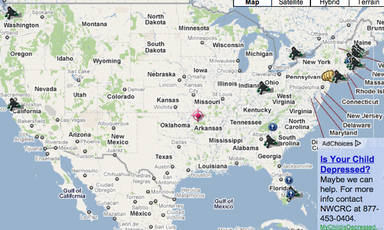 Recent Crimes Involving A Pharmacy On The Us Spotcrime Map