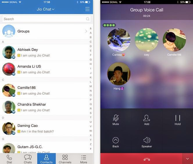reliance chat Jio chat, the new messaging platform from reliance jio infocomm, is now live on the android and ios app stores it's being billed as an indian alternative to whatsapp and the makers seem to have pulled out all the stops while making it first, a little background whatsapp is the largest messaging.