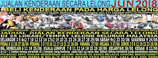 1-30/06/2018 - JUALAN KENDERAAN LELONG SELURUH MALAYSIA & SEKITAR KLANG VALLEY-SGR/K L