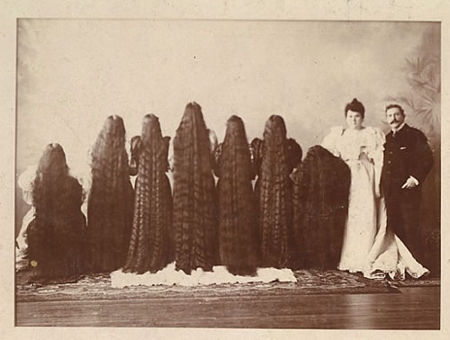 One of the most famous long hair Victorian women were the Sutherland ...