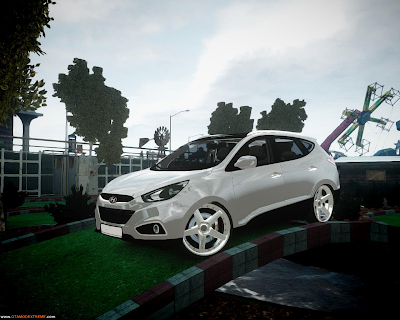 Hyundai IX35 DUB Para GTA IV